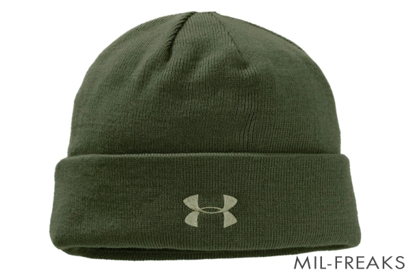 Under Armour Tactical ステルス ビーニー マリーンODグリーン