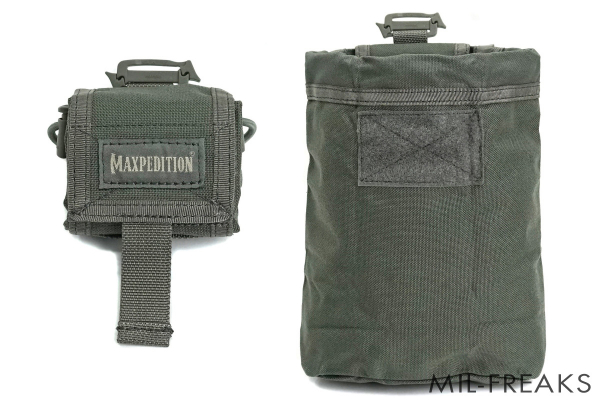 Maxpedition Rollypoly MM フォールディング ダンプポーチ フォリッジグリーン
