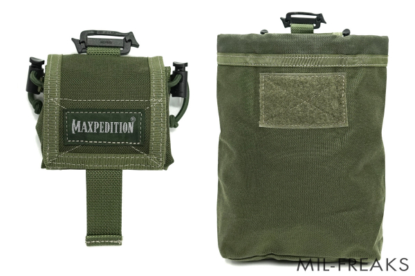 Maxpedition Rollypoly MM フォールディング ダンプポーチ ODグリーン