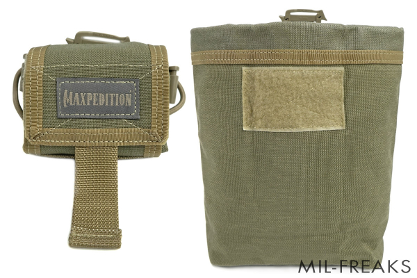 Maxpedition Rollypoly MM フォールディング ダンプポーチ カーキ